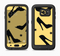 The Yellow & Black High-Heel Pattern V12 Full Body Samsung Galaxy S6 LifeProof Fre Case Skin Kit