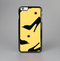 The Yellow & Black High-Heel Pattern V12 Skin-Sert Case for the Apple iPhone 6 Plus