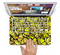 "The Yellow Butterfly Bundle Skin Set for the Apple MacBook Pro 13"" with Retina Display"