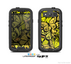 The Yellow Butterfly Bundle Skin For The Samsung Galaxy S3 LifeProof Case