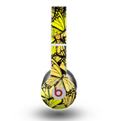 The Yellow Butterfly Bundle Skin for the Beats by Dre Original Solo-Solo HD Headphones