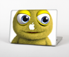 The Yellow Fuzzy Wuzzy Creature Skin Set for the Apple MacBook Pro 15""