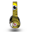 The Yellow Fuzzy Wuzzy Creature Skin for the Original Beats by Dre Studio Headphones