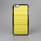 The Yellow Gradient Layered Chevron Skin-Sert for the Apple iPhone 6 Skin-Sert Case