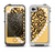 The Yellow Heart Shaped Leopard Apple iPhone 4-4s LifeProof Fre Case Skin Set