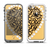 The Yellow Heart Shaped Leopard Apple iPhone 5-5s LifeProof Fre Case Skin Set
