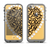 The Yellow Heart Shaped Leopard Apple iPhone 5c LifeProof Fre Case Skin Set