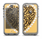 The Yellow Heart Shaped Leopard Apple iPhone 5c LifeProof Nuud Case Skin Set