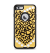 The Yellow Heart Shaped Leopard Apple iPhone 6 Plus Otterbox Defender Case Skin Set