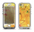 The Yellow Leaf-Imprinted Paint Splatter Apple iPhone 5-5s LifeProof Nuud Case Skin Set