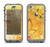 The Yellow Leaf-Imprinted Paint Splatter Apple iPhone 5c LifeProof Nuud Case Skin Set