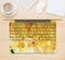 "The Yellow Leaf-Imprinted Paint Splatter Skin Kit for the 12"" Apple MacBook"