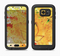 The Yellow Leaf-Imprinted Paint Splatter Full Body Samsung Galaxy S6 LifeProof Fre Case Skin Kit
