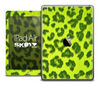 The Yellow Leopard Animal Print Skin for the iPad Air