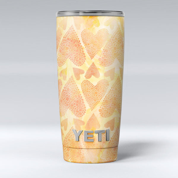 The_Yellow_Orange_Tiny_Hearts_of_a_Whole_-_Yeti_Rambler_Skin_Kit_-_20oz_-_V1.jpg