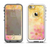 The Yellow & Pink Flowerland Apple iPhone 5-5s LifeProof Fre Case Skin Set