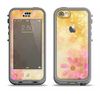 The Yellow & Pink Flowerland Apple iPhone 5c LifeProof Nuud Case Skin Set