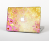 "The Yellow & Pink Flowerland Skin Set for the Apple MacBook Pro 15"" with Retina Display"
