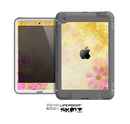 The Yellow & Pink Flowerland Skin for the Apple iPad Mini LifeProof Case