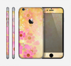 The Yellow & Pink Flowerland Skin for the Apple iPhone 6