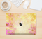 "The Yellow & Pink Flowerland Skin Kit for the 12"" Apple MacBook"