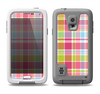 The Yellow & Pink Plaid Samsung Galaxy S5 LifeProof Fre Case Skin Set