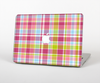 The Yellow & Pink Plaid Skin Set for the Apple MacBook Pro 15""