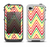 The Yellow & Red Vintage Chevron Pattern Apple iPhone 4-4s LifeProof Fre Case Skin Set