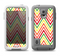 The Yellow & Red Vintage Chevron Pattern Samsung Galaxy S5 LifeProof Fre Case Skin Set