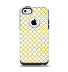 The Yellow & White Seamless Morocan Pattern V2 Apple iPhone 5c Otterbox Commuter Case Skin Set