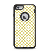 The Yellow & White Seamless Morocan Pattern V2 Apple iPhone 6 Plus Otterbox Defender Case Skin Set