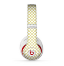 The Yellow & White Seamless Morocan Pattern V2 copy Skin for the Beats by Dre Studio (2013+ Version) Headphones
