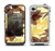 The Yellow and Brown Pastel Flowers Apple iPhone 4-4s LifeProof Fre Case Skin Set