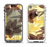 The Yellow and Brown Pastel Flowers Apple iPhone 5-5s LifeProof Fre Case Skin Set