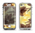The Yellow and Brown Pastel Flowers Apple iPhone 5-5s LifeProof Nuud Case Skin Set
