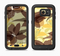 The Yellow and Brown Pastel Flowers Full Body Samsung Galaxy S6 LifeProof Fre Case Skin Kit