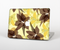 "The Yellow and Brown Pastel Flowers Skin Set for the Apple MacBook Pro 15"" with Retina Display"