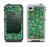 The Yellow and Green Recycle Pattern Apple iPhone 4-4s LifeProof Fre Case Skin Set