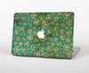 The Yellow and Green Recycle Pattern Skin Set for the Apple MacBook Pro 15""