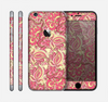 The Yellow and Pink Paisley Floral Skin for the Apple iPhone 6