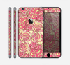 The Yellow and Pink Paisley Floral Skin for the Apple iPhone 6 Plus