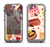 The Yummy Dessert Pattern Apple iPhone 5c LifeProof Nuud Case Skin Set