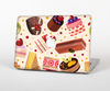The Yummy Dessert Pattern Skin Set for the Apple MacBook Pro 15""