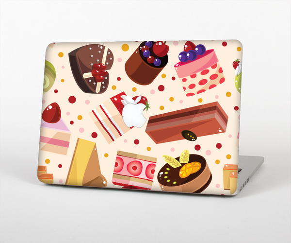 "The Yummy Dessert Pattern Skin Set for the Apple MacBook Pro 13"" with Retina Display"