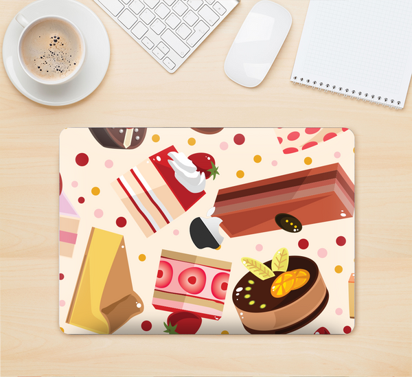 "The Yummy Dessert Pattern Skin Kit for the 12"" Apple MacBook"