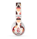 The Yummy Subtle Cupcake Pattern Skin for the Beats by Dre Studio (2013+ Version) Headphones