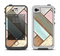 The Zigzag Vintage Wood Planks Apple iPhone 4-4s LifeProof Fre Case Skin Set
