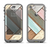The Zigzag Vintage Wood Planks Apple iPhone 5c LifeProof Nuud Case Skin Set