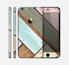 The Zigzag Vintage Wood Planks Skin for the Apple iPhone 6 Plus
