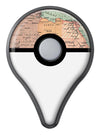 The Zoomed In Africa Map  Pokémon GO Plus Vinyl Protective Decal Skin Kit